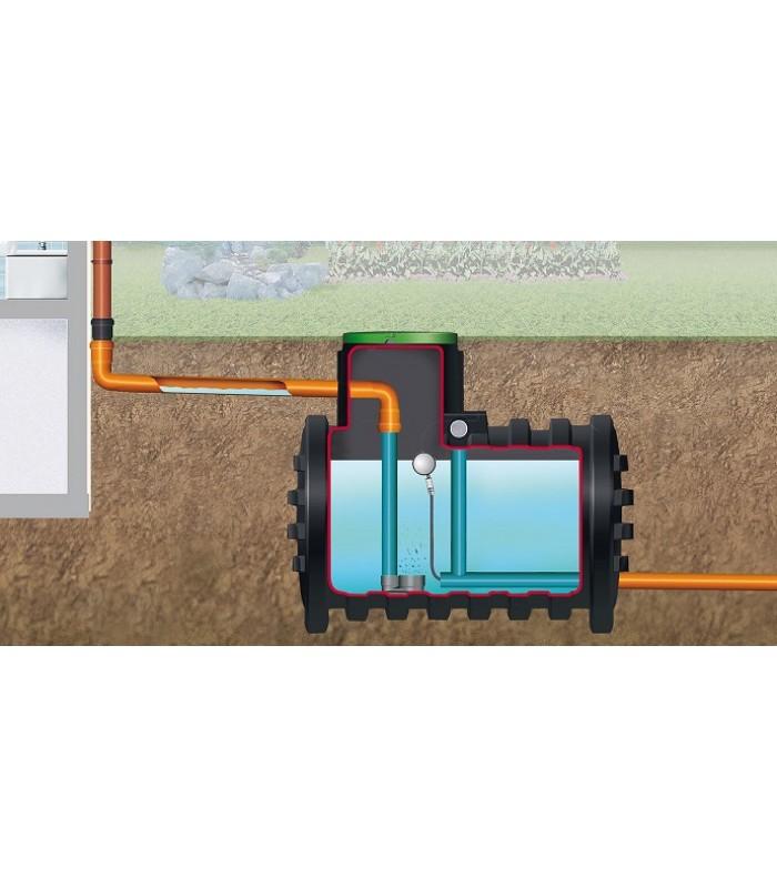 4rain Regentank Mono 3000 Liter - 6800 Liter Retention