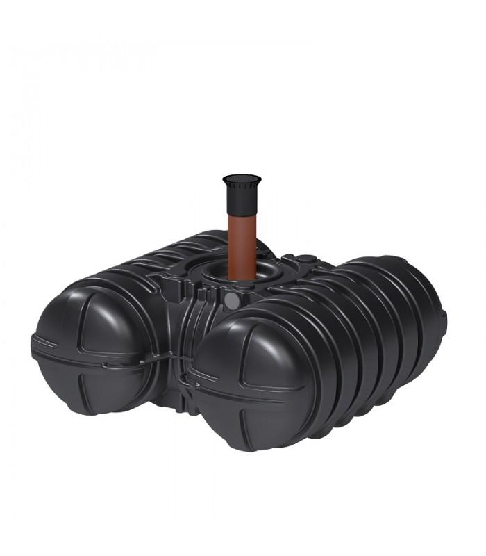 Roth Twinbloc Senkgrube 3500 Liter mit DIBt-Zulassung und Schacht DN 200-600