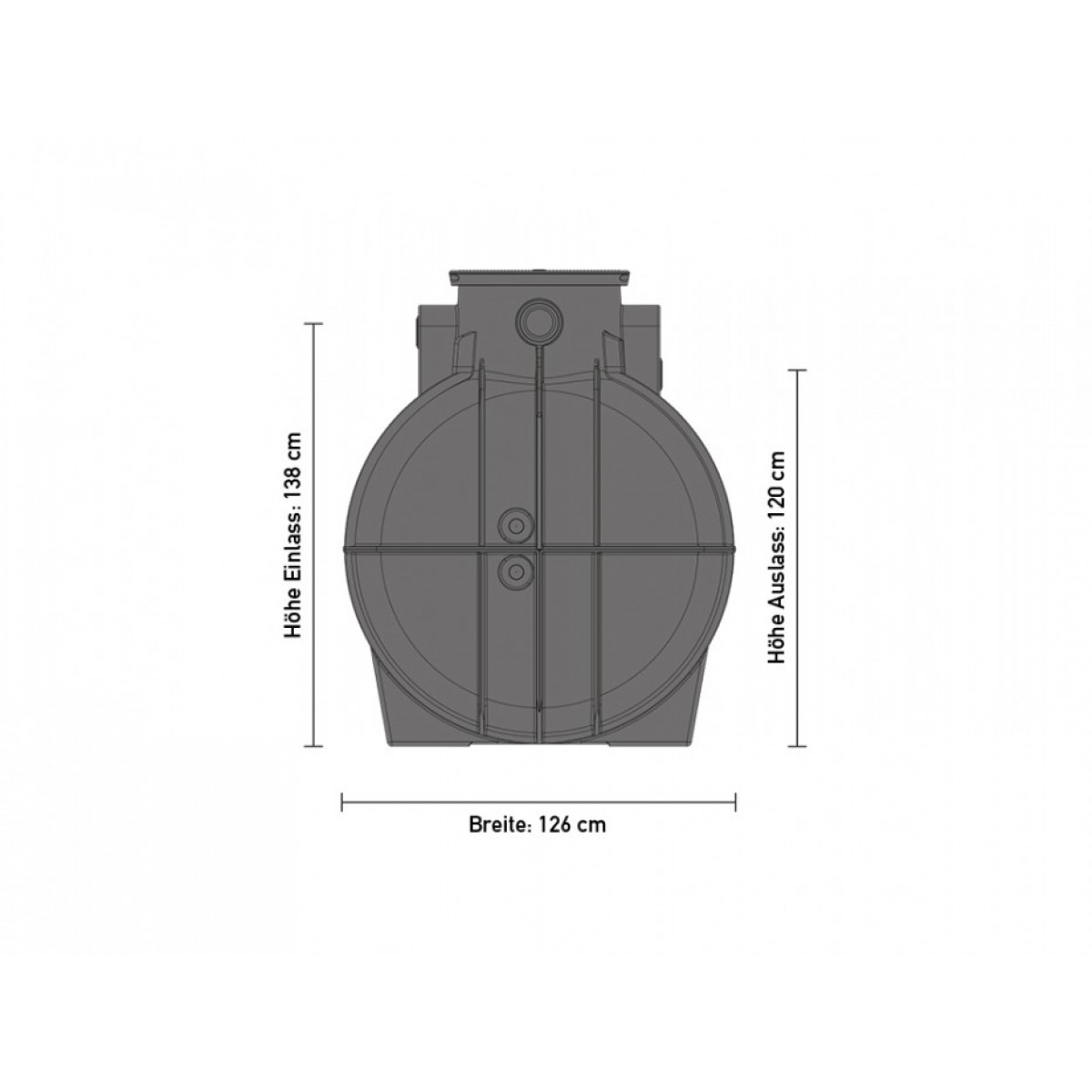 speidel trinkwassertank 2000 liter. Black Bedroom Furniture Sets. Home Design Ideas