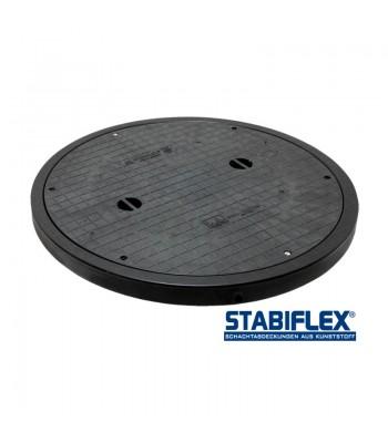 Stabiflex Abdeckung Basic XXL DN800/DN1000 – mit Blockrahmen