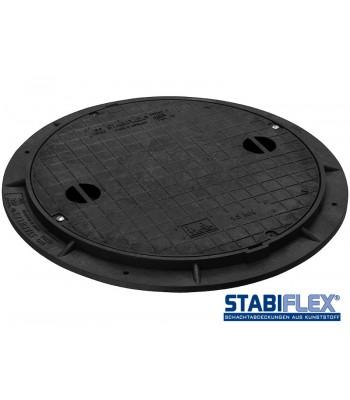 Schachtabdeckung Stabiflex mit Flanschrahmen